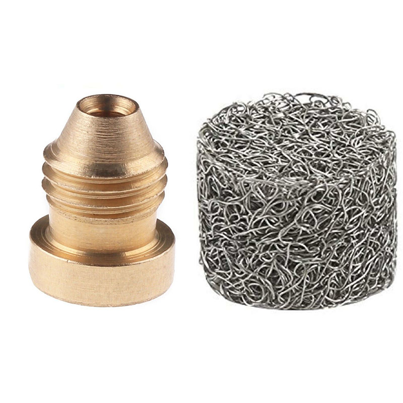1.1mm Thread Categories Cannon Brass Orifice Nozzle Tips 14mm Foam Maker Kit Hot