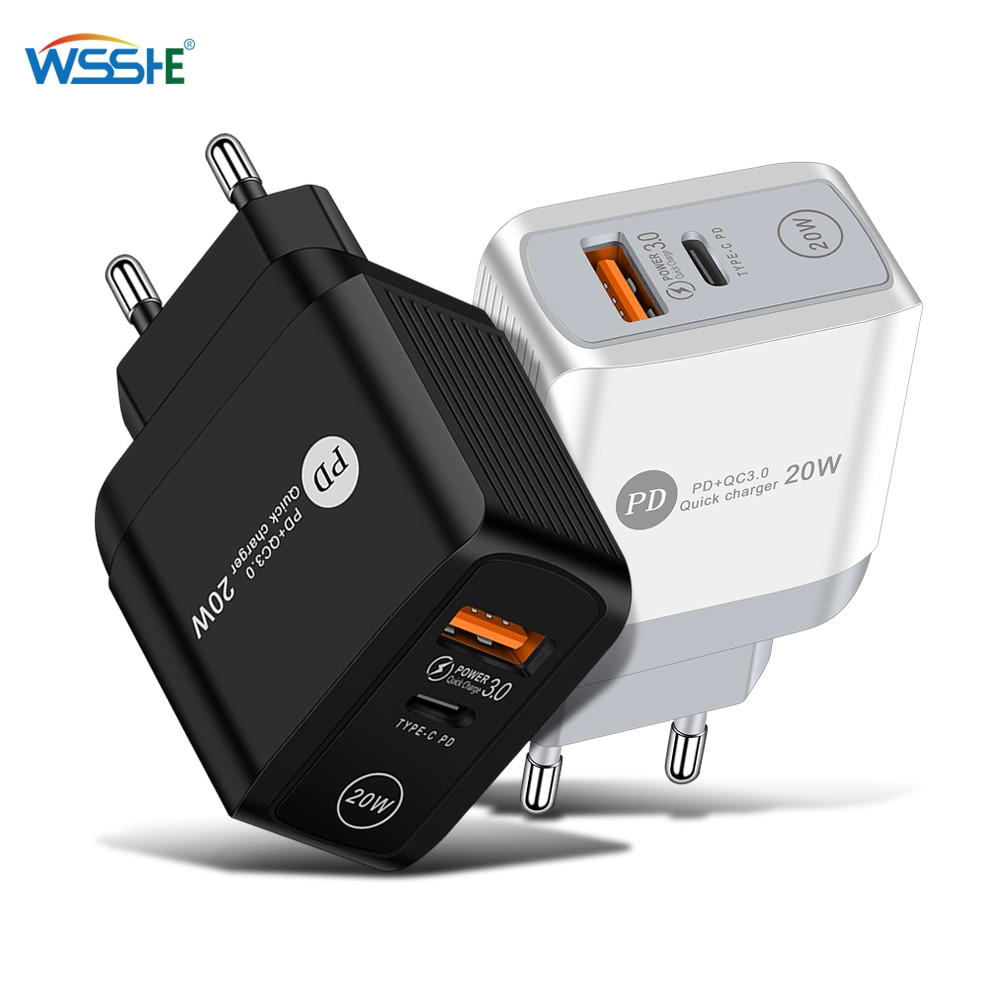 Quick Charge 3.0 For iPhone Charger Wall Fast Charging For Samsung S10 S9 S8 Plug Xiaomi Mi Huawei M