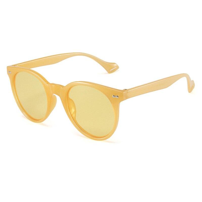 2021 солнцезащитные очки в круглой оправе в стиле ретро женские модные очки мужские пластиковые очки женские очки мужские очки
