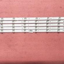 5pcs/kit 78cm LED Backlight strip10leds RF-AB400E32-1001S-01 LB-C400F13-E2-C-G2-RF1 For ED40C1000N L