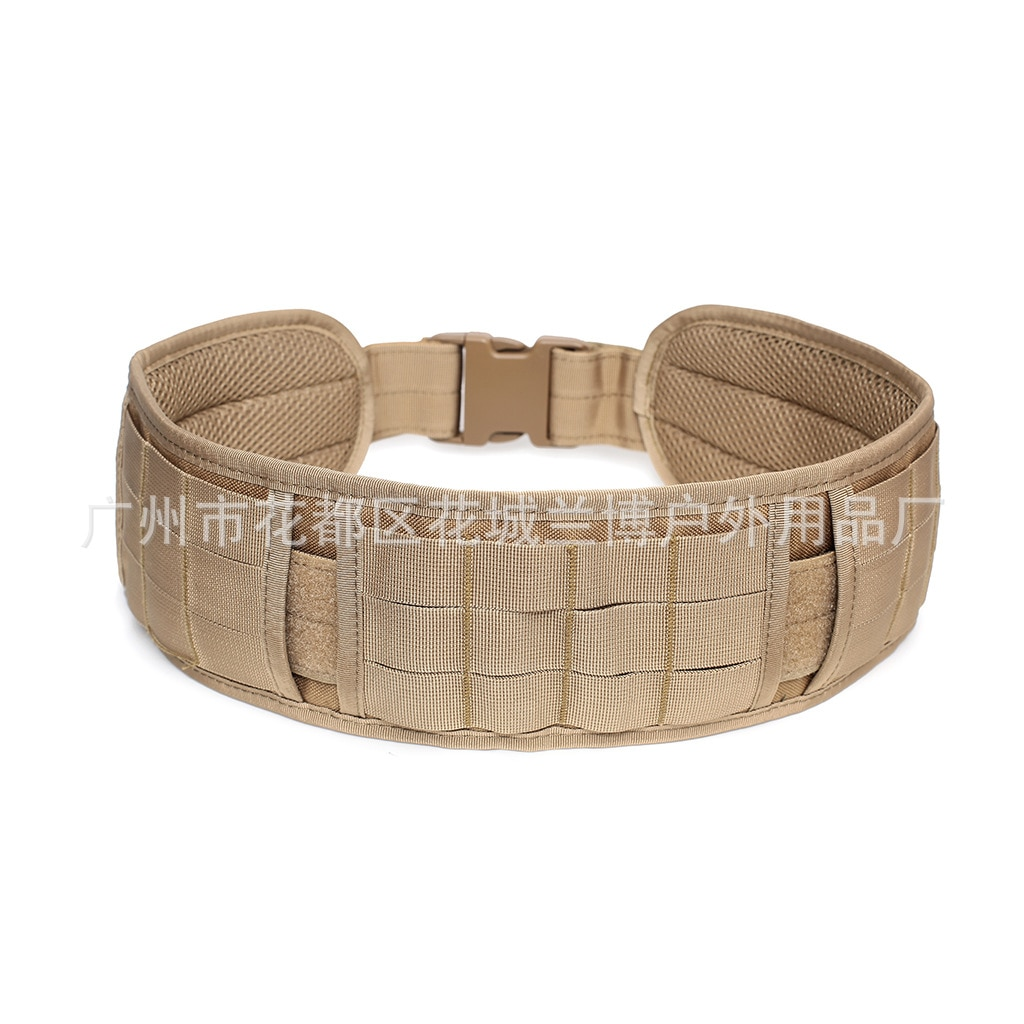 Army Style Combat Belts Molle Outdoor Quick Release Tactical CS Belt Multi-purpose Outdoor Equipment Field Army Fan Wide Belt