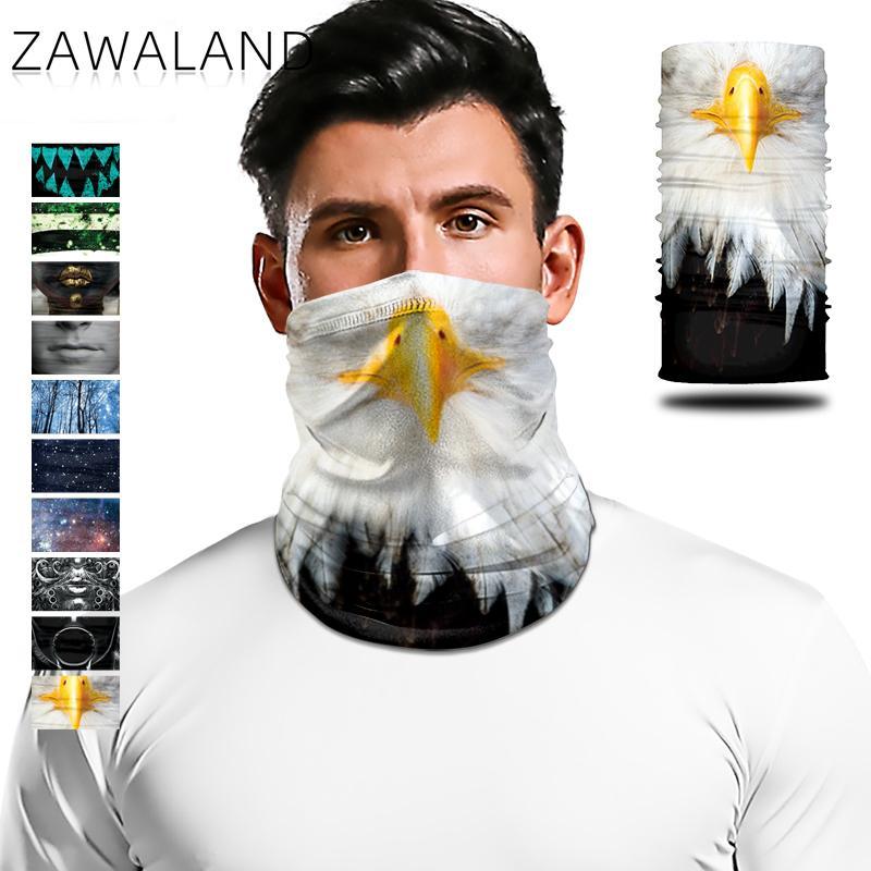 Bufanda multifuncional Zawaland para el cuello, pañuelo a prueba de viento para la cara, pañuelo para la cabeza de Trekking para mujeres y hombres