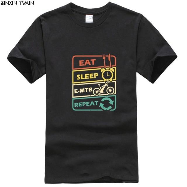 Camiseta para hombre, regalo electrónico para bicicleta, regalo de idea, camiseta para mujer