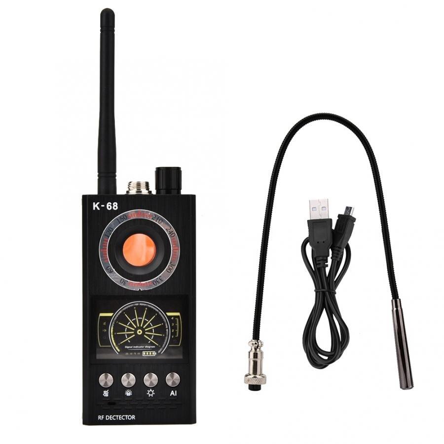 Inalámbrico portátil Anti-deslizamiento Anti-rastreo Detector Radio escáner fuego transceptor
