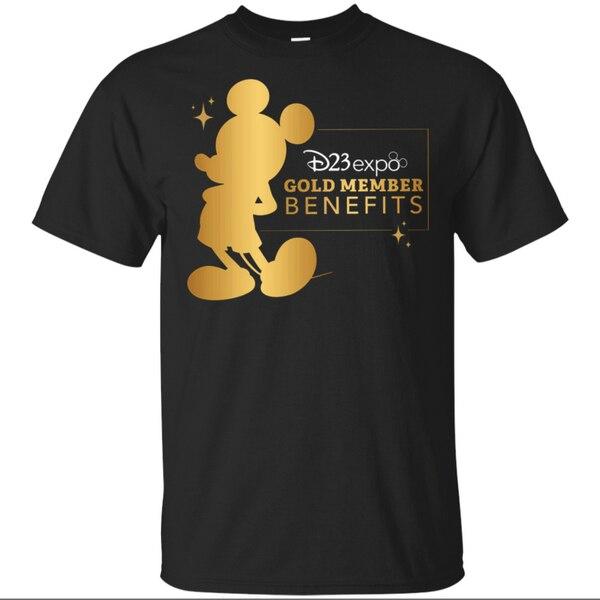 D23 Expo 2020 Gold Schwarz T-Shirt M-Xxxl Gedruckt T Shirt Neue Mode-Design Für Männer Frauen