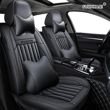 Housses de siège de voiture en cuir FUZHKAQI pour Range Rover sport Land Rover découverte