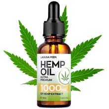Lagunamoon 30ML Natural Hemp Seed Essential Oil Base Oil 1000/3000/5000Mg Hair Growth Reduce Wrinkles Hydrate Dry Skin Relief