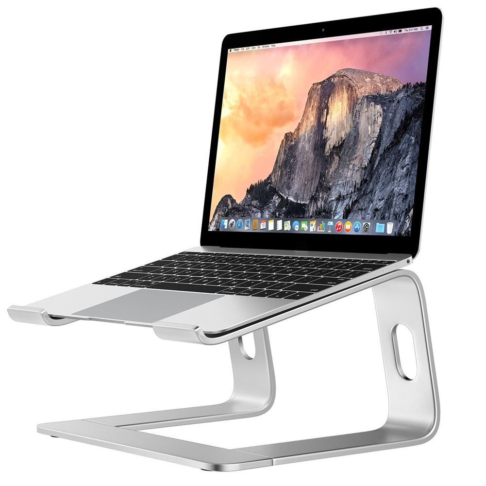 Laptop Stand Holder Aluminum Notebook Stand For Macbook Air Pro Portable Support Desktop Holder Computer Cooling Bracket Riser