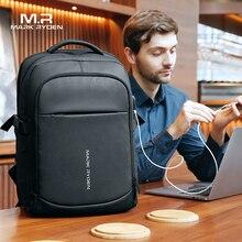 Mark Ryden 2020 homme sac à dos multifonctionnel étanche 15.6 pouces ordinateur portable multi-couche poches sac homme USB charge école sac à dos