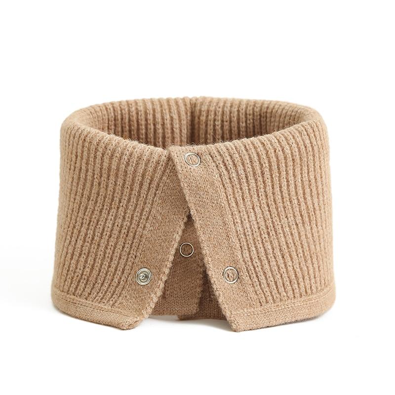 Novo anel de inverno cachecol moda senhora pescoço snood unissex envoltórios anel cachecóis feminino geométrico quente pele sólida bufanda 2020