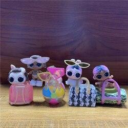Lote 5 peças originais lol surpresa lil jet conjunto q. t. Hop lilinstagold instabunny hammy maré animal de estimação bebê irmã mais nova bonecas presentes bonitos