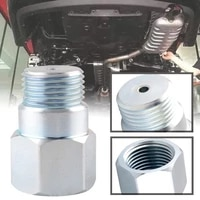 oxygen sensor spacer adapater extender isolator for all vehicles and exhaust systems with m18 x 1 5 sensor holes