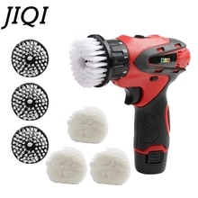 JIQI Handheld Schuh Leder Putzer Reiniger Automatische Glanz Schuhe Reinigung Pinsel Washer Autolack Pflege Polieren Maschine