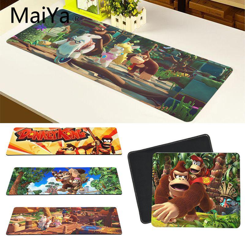 Maiya высокое качество Donkey Kong силиконовый большой/маленький коврик для мышки игра бесплатная доставка большой коврик для мыши клавиатуры коврик