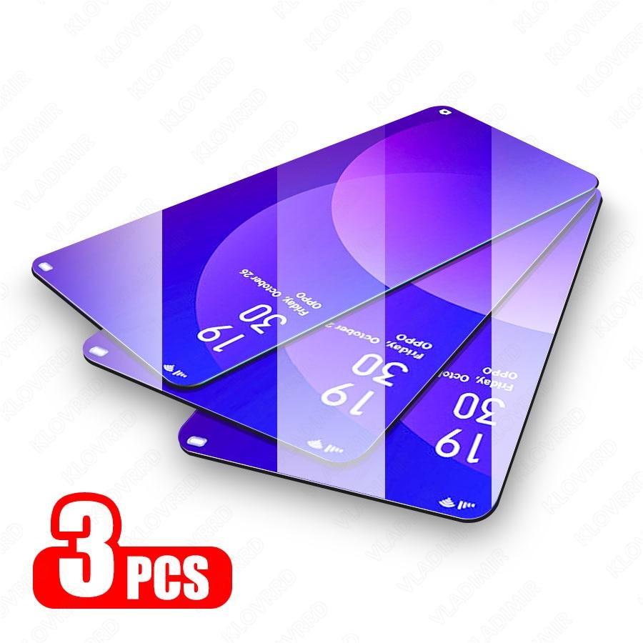 3 шт. защитное закаленное стекло для OPPO Reno Z Ace A 2Z 2 10X Защита экрана для OPPO Realme 5X2 Pro XT C2 X Lite стеклянная пленка