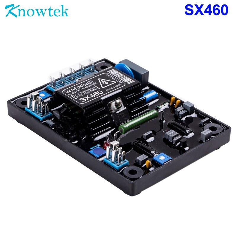 Regulador automático de voltaje AVR SX460 para alternador generador sin escobillas