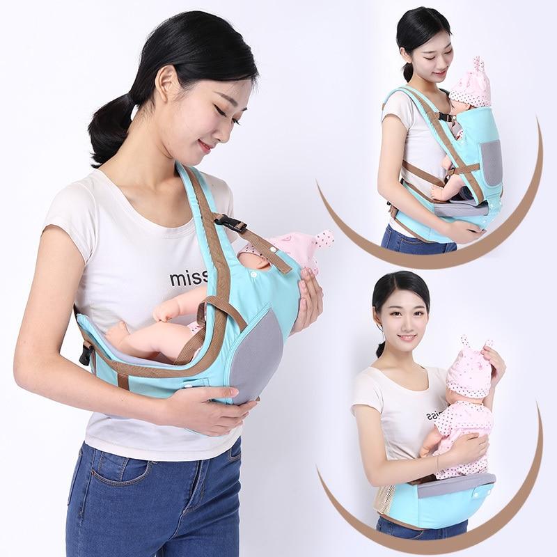 0-36m bebê hipseat cintura portador de algodão recém-nascido do bebê fezes da cintura com segurança estilingue cinto de cintura para o bebê viagem criança transportadora