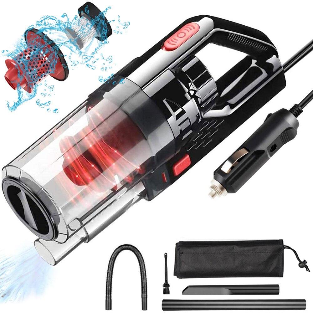 Портативный автомобильный пылесос Airmsen, домашний и автомобильный пылесос двойного использования, проводной Ручной Мини-пылесос высокой мо...