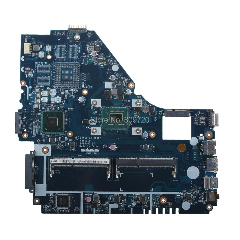 Z5WE1Z5WT1 LA-9535P NBMES11001 NB MES11.001 para acer aspire E1-570 E1-570G placa base...
