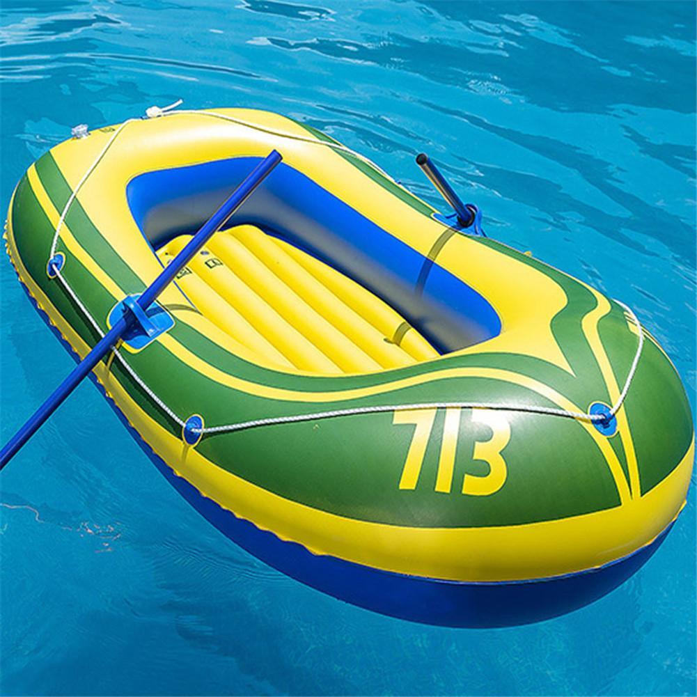 Almohadilla de agua flotante inflable portátil para adultos y niños, bote plegable de goma, Explorer, Kayak, canoa para pesca, flotadores de piscina