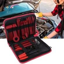 Car Panel Dash Repair Kit Automotive Interior Trim Remover with Storage Bag