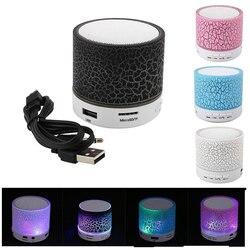 LED портативные мини Bluetooth колонки, Беспроводная колонка с TF микрофоном, Blutooth, музыка для Xiaomi, iPhone, телефона