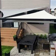 Imperméable abri soleil tente bâche Anti UV plage ombre extérieur parasol auvent auvent pour jardin piscine Camping hamac pluie mouche