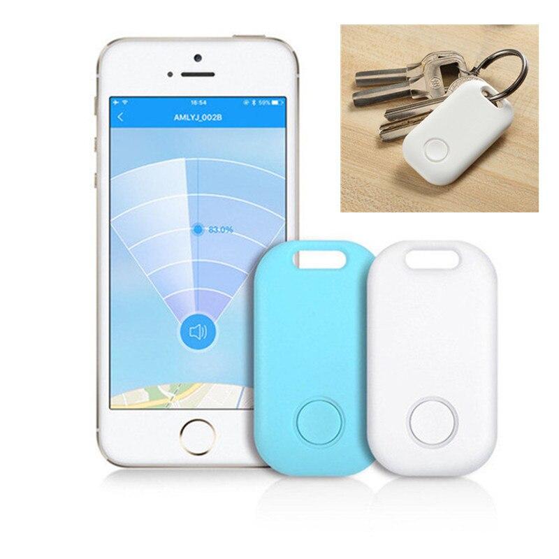 Mini rastreador inteligente GPS para mascotas, rastreador Anti-pérdida a prueba de agua con Bluetooth para mascotas, perro, gato, coche para niños, BILLETERA, accesorios para llavero