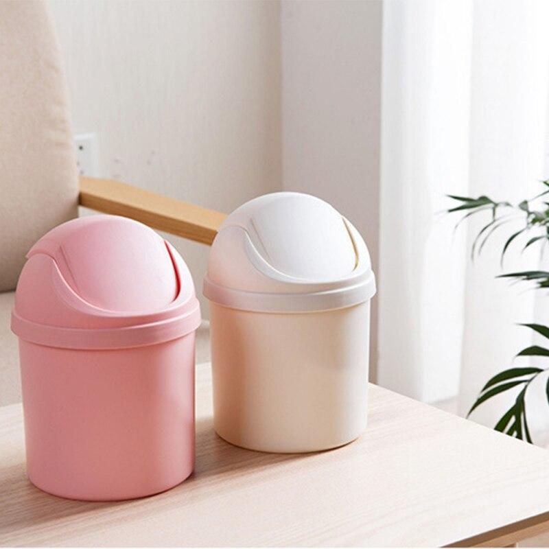 Hogar Mini pequeñas Bin escritorio cesta para basura para de oficina en casa basura cesta Herramientas de limpieza