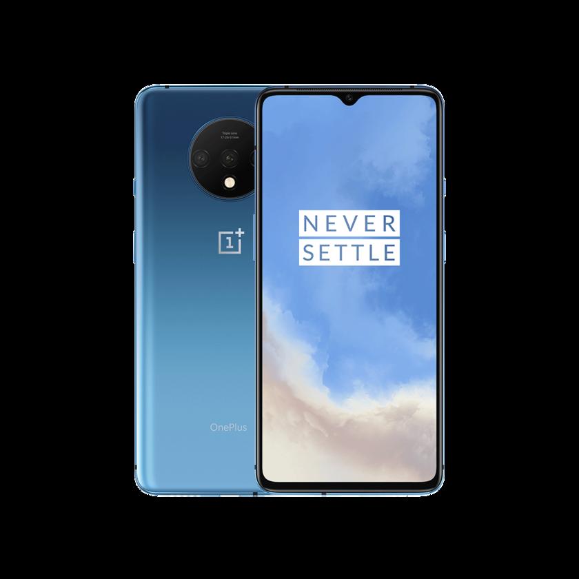 Перейти на Алиэкспресс и купить Смартфон в наличии OnePlus 7T, 8 ГБ, 256 ГБ, 128 ГБ, Восьмиядерный процессор Snapdragon 855 Plus, AMOLED экран 90 Гц, тройная камера 48 МП, UFS 3,0 NFC