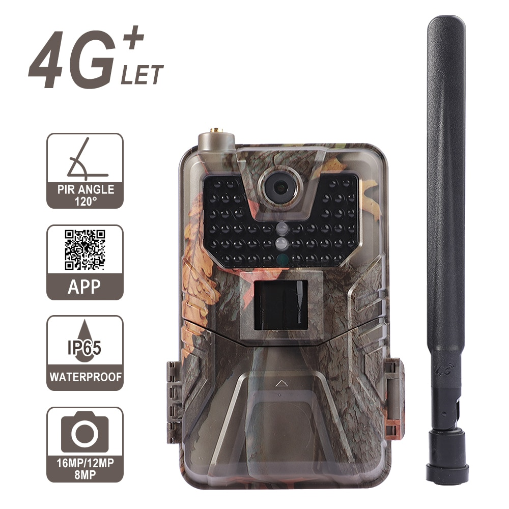 Hunting Cameras HC-900pro 4K 30FPS Live Video APP Trail охота и снаряжение Night Camera Cloud Service 4G 30MP Hunting Equipment