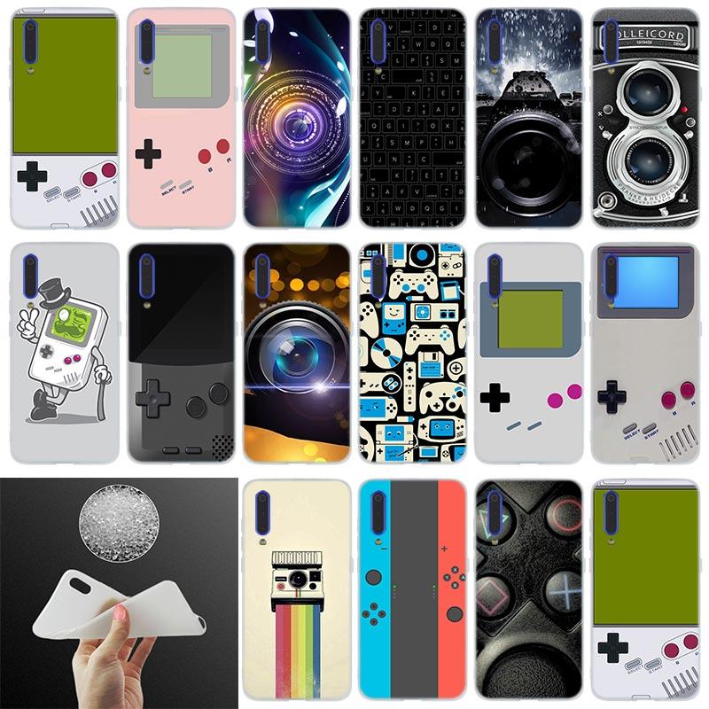 De silicona caso Gameboy cámara para Xiaomi 9 se 8 lite 6X 5X mi a1 a2 f1 mi x 2s Max 3 teléfono redmi Nota 7 pro 6 5 A de los casos