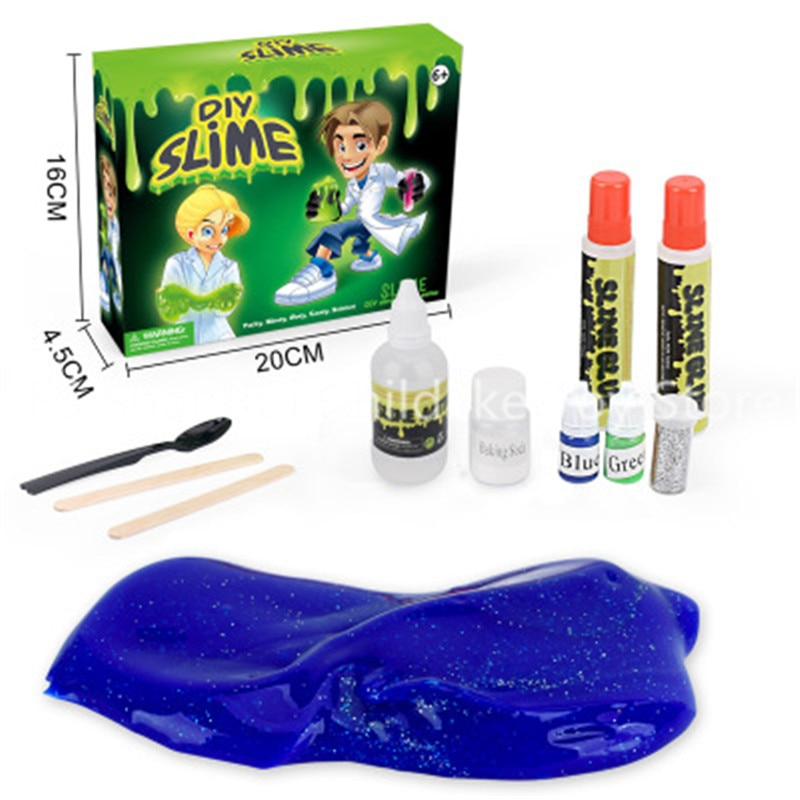 hot sale  slime crystal mud  anti stress DIY toys for children enlarge