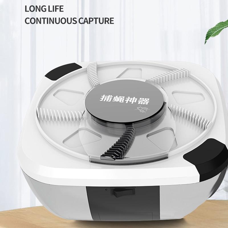 New Automatic Flycatcher Flies Killer Trap USB Fly Trap Electric Pest Catcher Fly Killer Device Insect Pest Reject Anti-harmful недорого