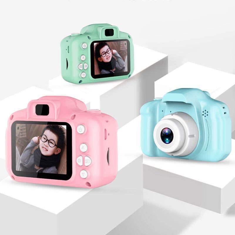 Kids Digital Camera 2 Inch HD Screen 8MP Kid Cartoon Cameras Video Recorder Camcorder for Children's