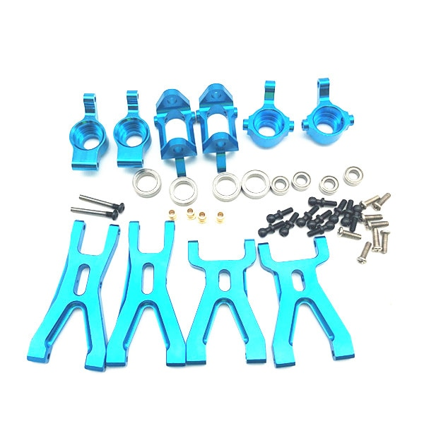 Upgrade Metal Suspension Arm & Front/Rear Hub C Seat Parts Kit For WLtoys A959 A979 A959B A979B RC C