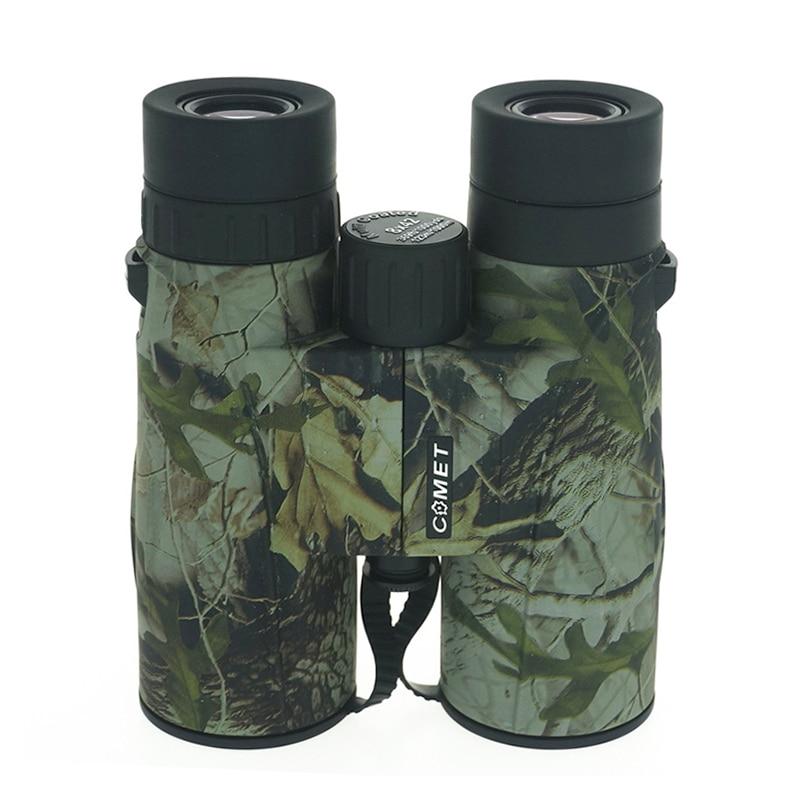 Hunting Binocular Telescope 8x42 HD Camouflage Pressional Outdoor Telescope for Camping Hiking Bird Watching