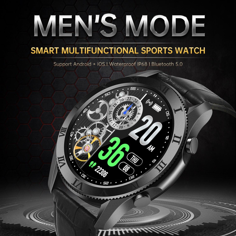 2021 New1.35Inch شاشة كبيرة ساعة ذكية 3 الرجال الرياضة ساعة 4 لسامسونج غالاكسي هواوي بلوتوث دعوة ساعة النساء هدية