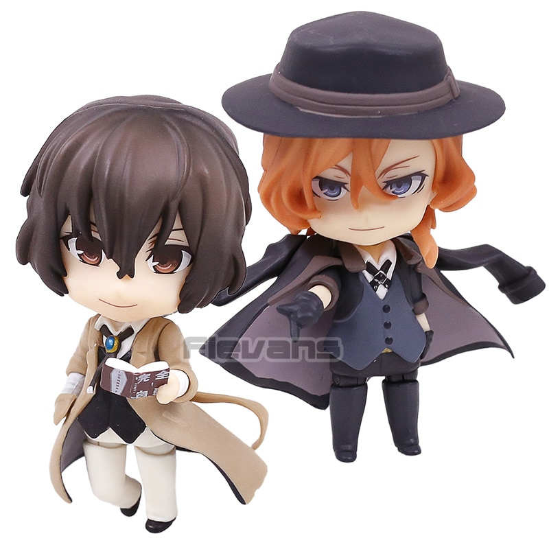 Bungo Stray Dogs Nakahara Chuya 676 Dazai Osamu 657 PVC Action Figure Collectible Model Toy