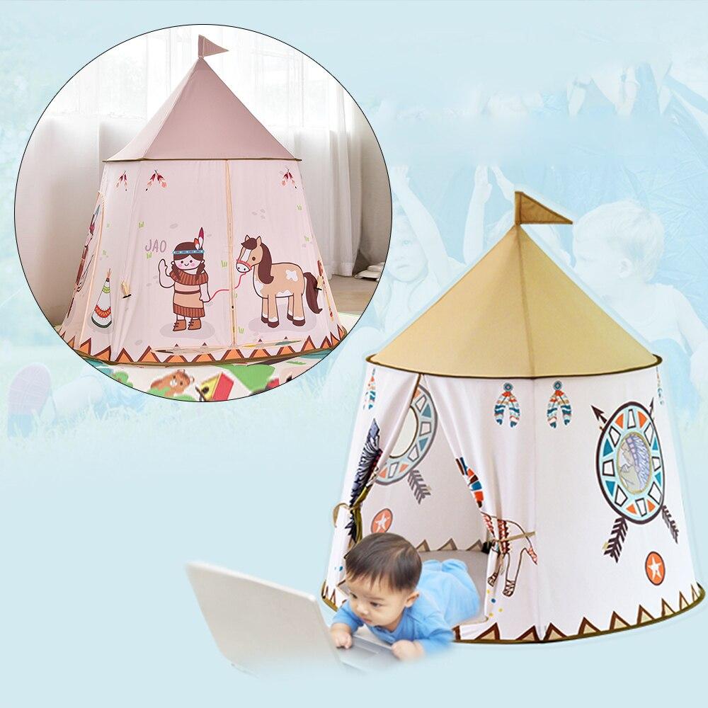 Tienda portátil para niños, casa de juegos para bebés, piscina, tienda de campaña al aire libre, tienda Tipi, habitación de niños, juguete, regalo de cumpleaños