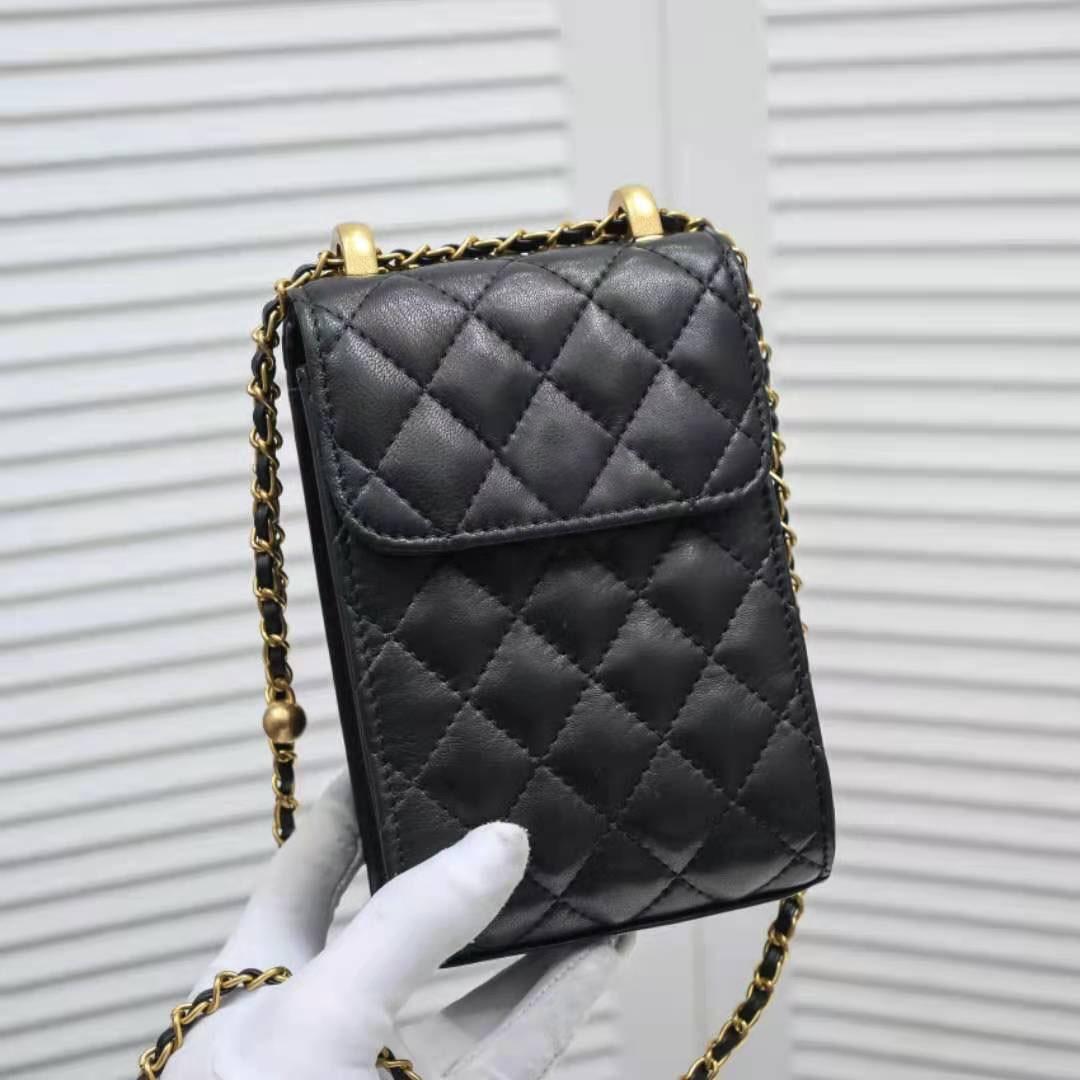 2021 آخر موديلات الهواتف النقّالة حقيبة السيدات محفظة جيب قابل للتعديل حزام الكتف طول عالية الجودة حقيبة يد جلدية