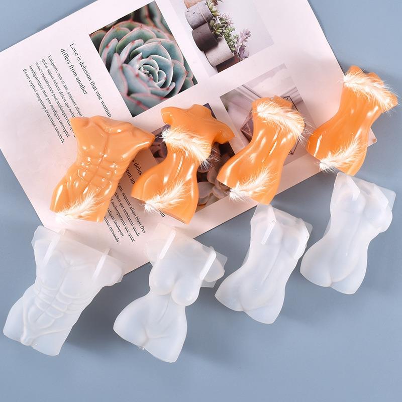 2021 силиконовая форма «сделай сам» в форме тела, Художественная Скульптура, модель, женская, мужская, силиконовая форма для беременных, форма для мыла, форма для воска, полимерное ремесло, украшение