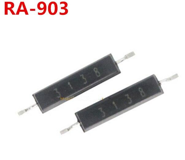 10 pçs/lote RA-903 reed interruptor plástico normalmente aberto smd estereótipo magnetron novo original