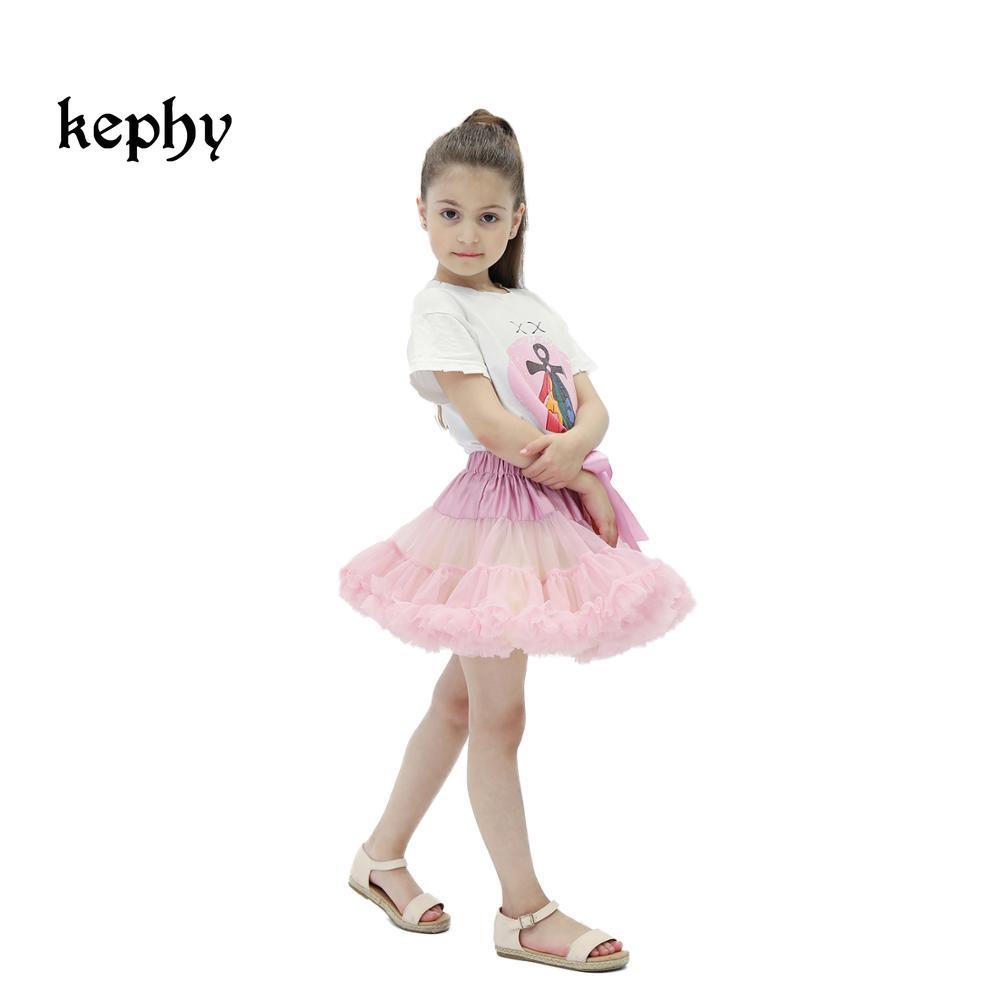 Falda tutú de alta calidad para niñas, falda tutú de Ballet mullida para madre e Chico, faldas para bebé o niña, faldas de tul para fiestas de baile
