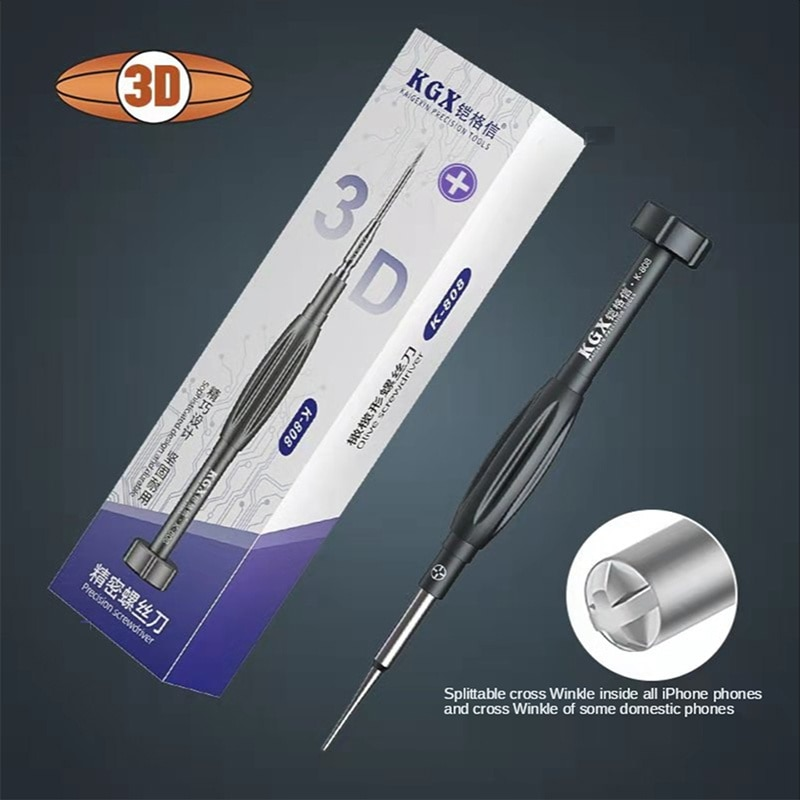 3d Rugby Precision Screwdriver Suitable Kgx for Iphone Android Mobile Telephone Repair and Disassembly Bolt Driver Tool KitsSuit enlarge