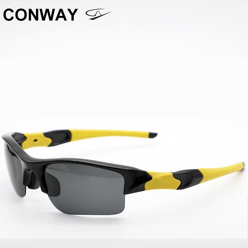 Conway-نظارات شمسية رياضية للرجال والنساء ، نظارات شمسية رياضية خفيفة ، TR90 ، نظارات مستطيلة للجري والخارج ، 03885