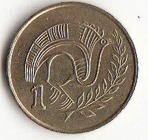 Chypre 1 cent pièces Europe   Nouvelle pièce de monnaie originale, édition commémorative 100% réel Rare, année aléatoire ue