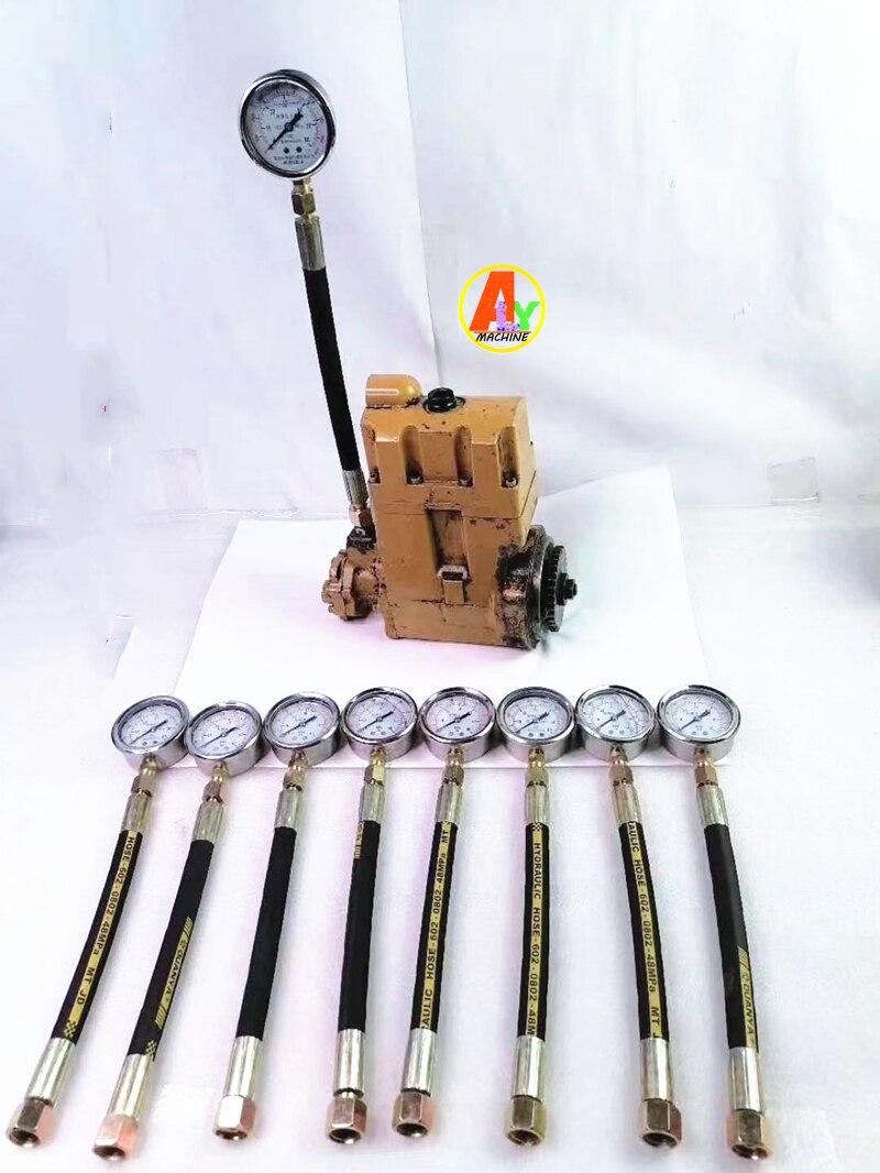 Medidor de prueba de presión de bomba Diesel 60mpa con tubo para bomba CAT
