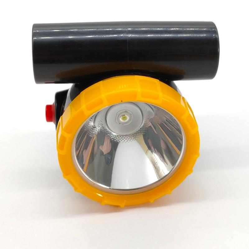 12pcs/lot New KL2.5LM  Wireless LED Mining Light 3W Headlamp Miner Cap Lamp enlarge