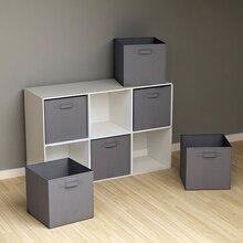 Boîte de rangement Cubes de placard   Bacs pliables en tissu Non tressé, organisateur de rangement de jouets denfants, bacs de rangement pour bureaux